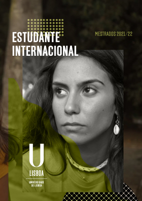 Folheto Estudante Internacional -  Mestrados 2021/22