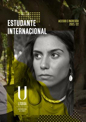 Folheto Estudante Internacional - Graduação 2021/22