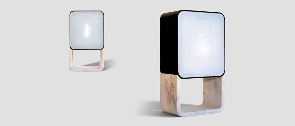 Biocheck-in: o dispensador de álcool gel que também mede a temperatura corporal